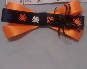 Spider hair bow