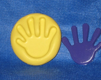 Hand Flexible Push Mold Candy Food Safe Silicone #687 Fondant Cake Resin Soap