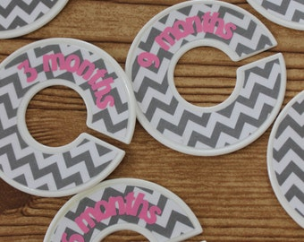 Custom Baby Closet Size Dividers - each will be custom made and unique!