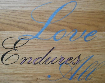 Wooden Sign, Wall Decor