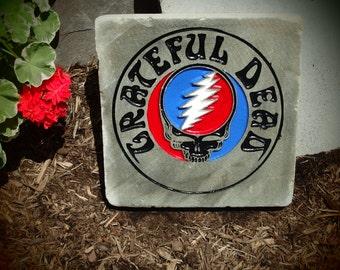 Grateful Dead Garden Stone