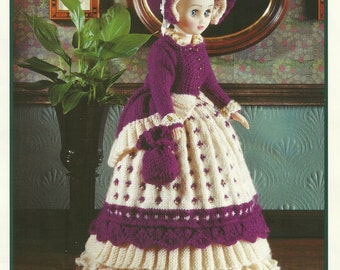 Victorian Doll Outfit  Knitting Pattern
