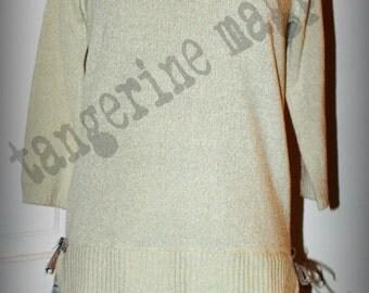 """Upcycled Sweater Dress/Tunic """"Liz"""""""