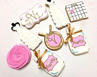 Bridal Shower Cookie Set #1