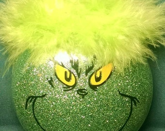 The Grinch (who stole Christmas) Ornament