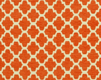 Covington Santa Fe Orange Drapery Panels-Lined, Unlined, or Blackout Curtains, Sold in Pairs, also in Indigo Blue