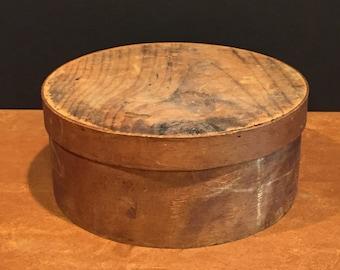 Antique Primitive Bent Wooden Pantry Box