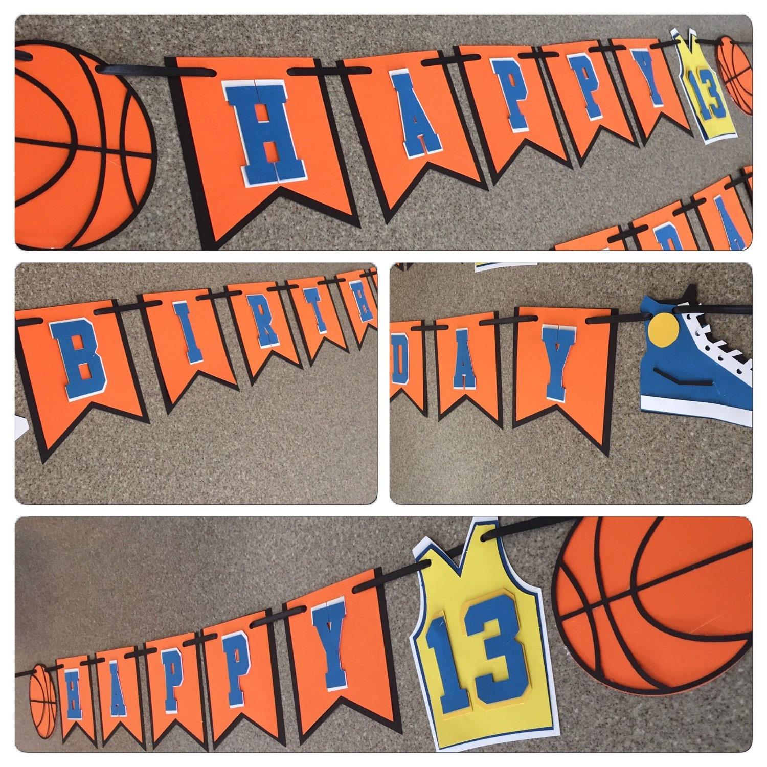 Basketball Banner Basketball Party Decor Sports Banner