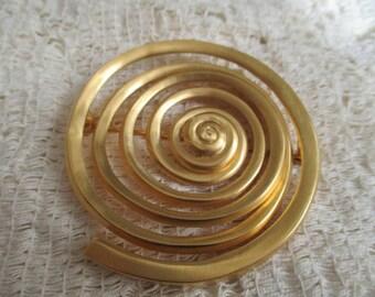 Vintage Spiral Pin