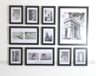 Photo Picture Frame Set -  Modern 10
