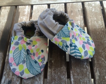 Spring Leaves Baby Shoes