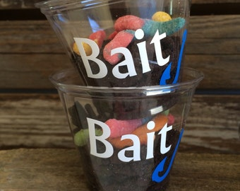 Fishing Party Cups - Gone Fishing Party, Under the Sea Party, Birthday Party, Party Decorations