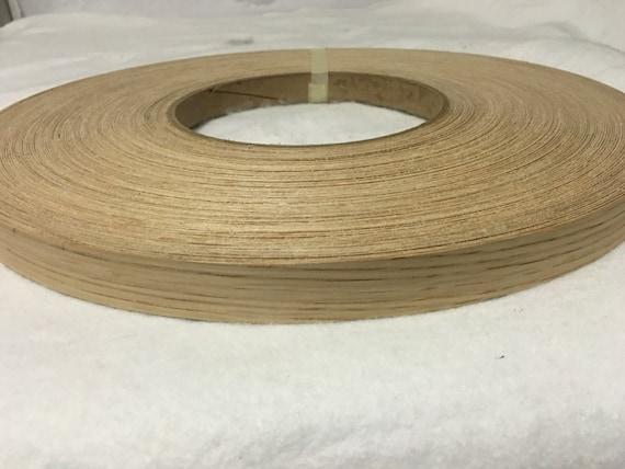 Ch ne blanc pr coll s placage bois bordure par chiquinellysupplies - Placage bois adhesif ...