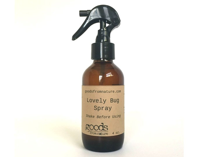 Natural Bug Spray - Lovely Bug Spray