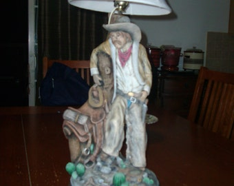 Vintage 1979 California originals decorative lamp
