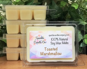 SOY Wax Melts TOASTED MARSHMALLOW Scented Tart Melts