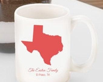 Personalized State Coffee Mug  (GC 1279)