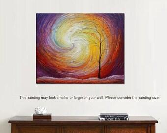 Large Art, Landscape Painting, Canvas Art, Wall Art, Large Painting, Original Art, Canvas Painting, Living Room Wall Art, Large Painting