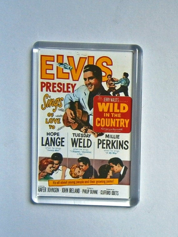 Elvis Presley movie posters Wild in the Country Roustabout Loving You fridge magnet New