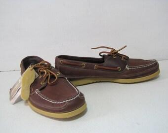 DEXTER Boat Shoes Size: 10.5 Men's Loafers Moccasins Leather Like New VINTAGE