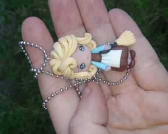 Cinderella mini handmade in polimer clay