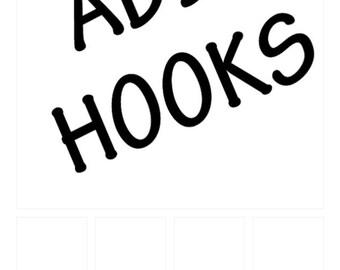 Add hooks to shelf