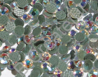 Crystal AB Hotfix Rhinestones, wholesale rhinestone pricing