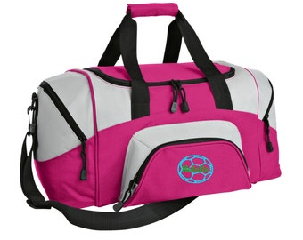 Soccer Gym Bag - Personalized - Monogrammed - Embroidered - Sports Bag - Sports Gift - Soccer Duffle Bag - BG990s