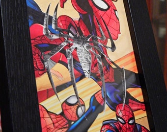 Comic Character Craft - Spiderman