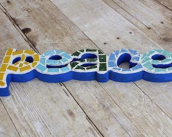 Peace Mosaic - Wall Art
