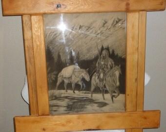 Vintage David R. Hasler/Mountain Man/Dated/Number