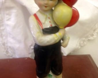 L&M, Inc Balloon Boy Figurine  -       Great Christmas Gift