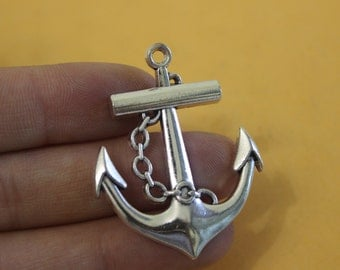 1pc Anchor Charms - Anchor Pendants - Anchors - Nautical Charm 42*33mm