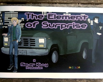 The Element of Surprise full colour zine