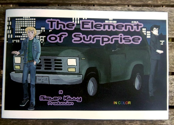The Element of Surprise full colour zine