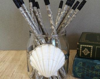 Pencil cup   coastal creation   seashell art   altered bottle   shell art   coastal decor   beach decor