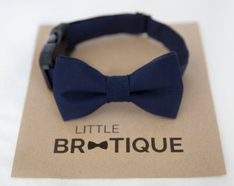 Navy Dog Bow Tie Sent 3-5 business days after you order