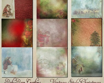 Vintage Christmas Papers