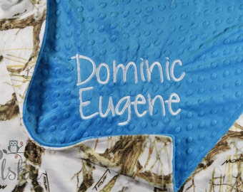 personalized blanket, minky blanket, personalized name blanket, name blanket, choose your colors, choose your size