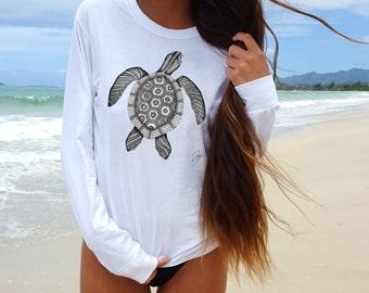 turtle Shirt/turtle T shirt woman/turtle t-shirt/tee shirts women /turtle /White Shirt women/White turtle Shirt/graphic tee/white shirt