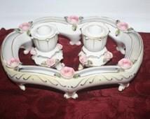 Vcagco Centerpiece Candle Holders, Vintage Home decor