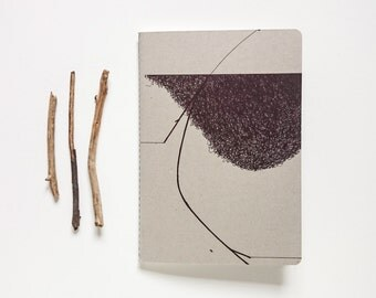 Inspire Notebook / Illustration / Copybook / Journal / Fieldnotes / Stationery / Gift for writers