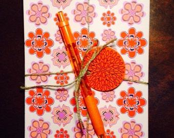 personalized note pad teacher gift set notepad girl gift set - GIGI