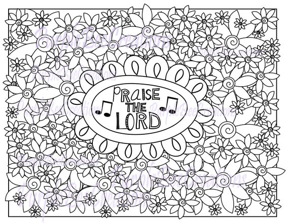 coloring pages praise - photo#7