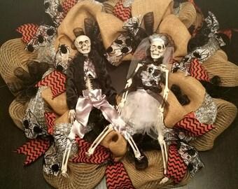 Till Death Do Us Part - Halloween Wreath