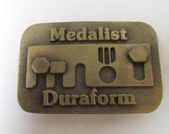 Vintage Medalist Duraform Belt Buckle
