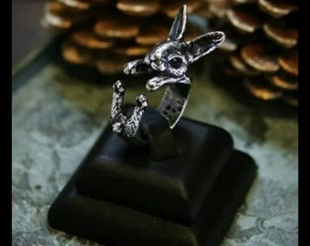 40% OFF Silver Rabbit Ring