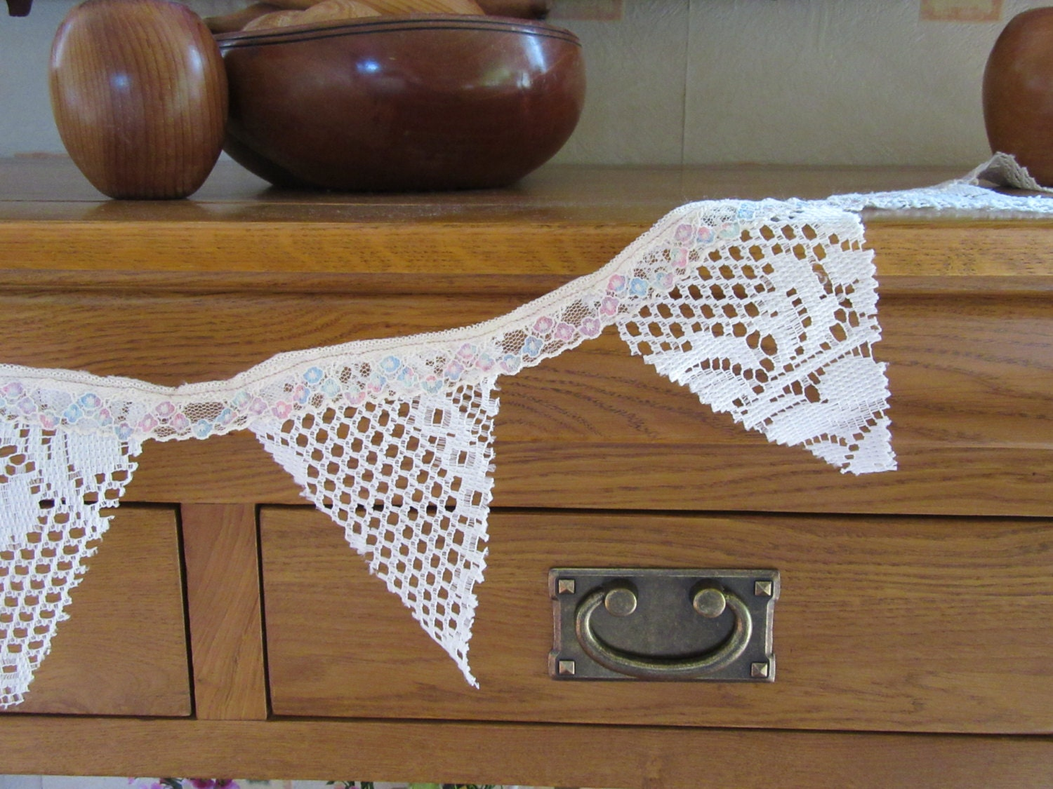 Mini Wedding Cake Table Decor LACE Bunting 8 by CoolCraftBox