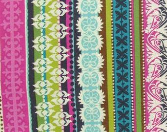 Roco Beat Striped Apparel Fabric