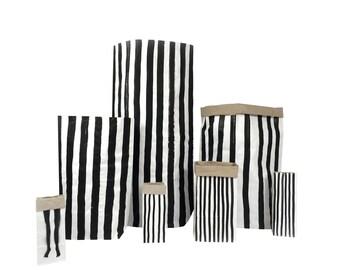 Vertical Stripes  - Paper Bag